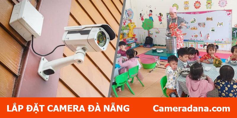 Lắp camera quan sát cho trường mầm non