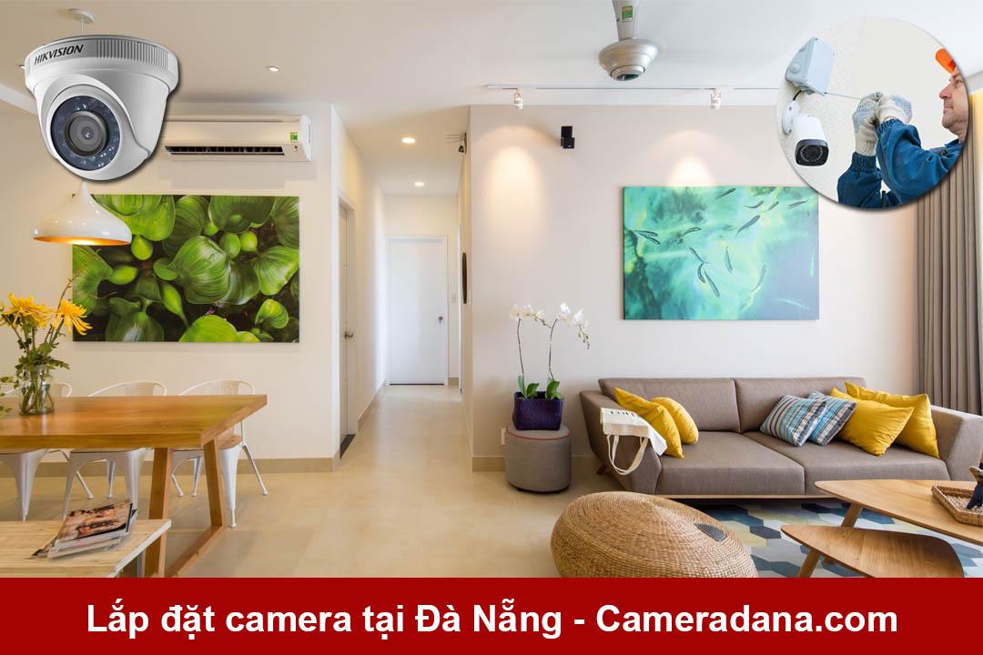 Lắp đặt camera tại nhà